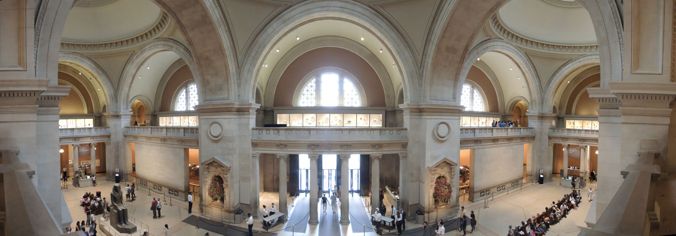 Panoramic photography jacob rosen ny nyc for Metopolitan museum of art